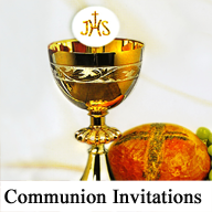 Communion Invitations 2